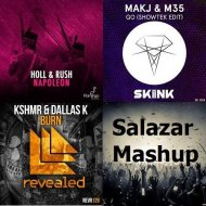 DallasK & KSHMR vs. Showtek, MAKJ, M35 vs. Holl & Rush - GO Napoleon Burn (Salazar Mashup)