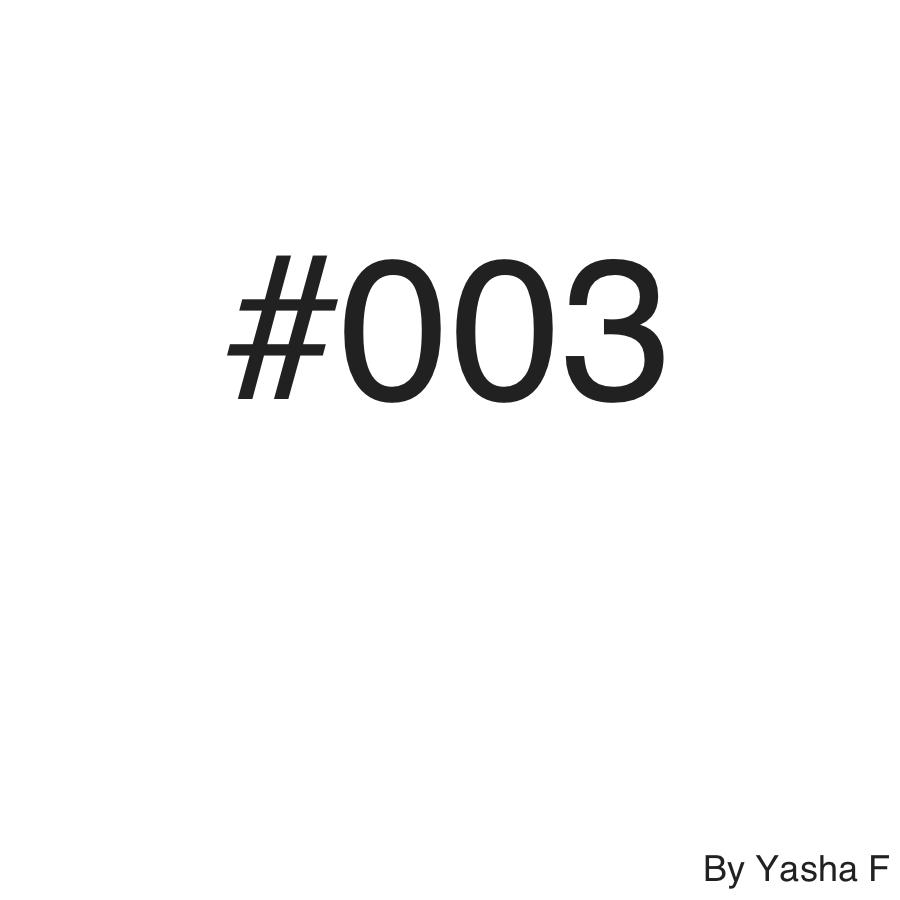 Yasha F - #003 ()