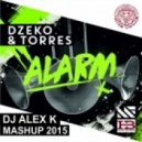 Dzeko & Torres vs. Timmy Trumpet & Chardy - Alarm (Dj Alex K Mash-Up) (Club Edit)