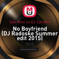 Sak Noel vs DJ Zarubin - No Boyfriend  (DJ Radoske Summer edit 2015)
