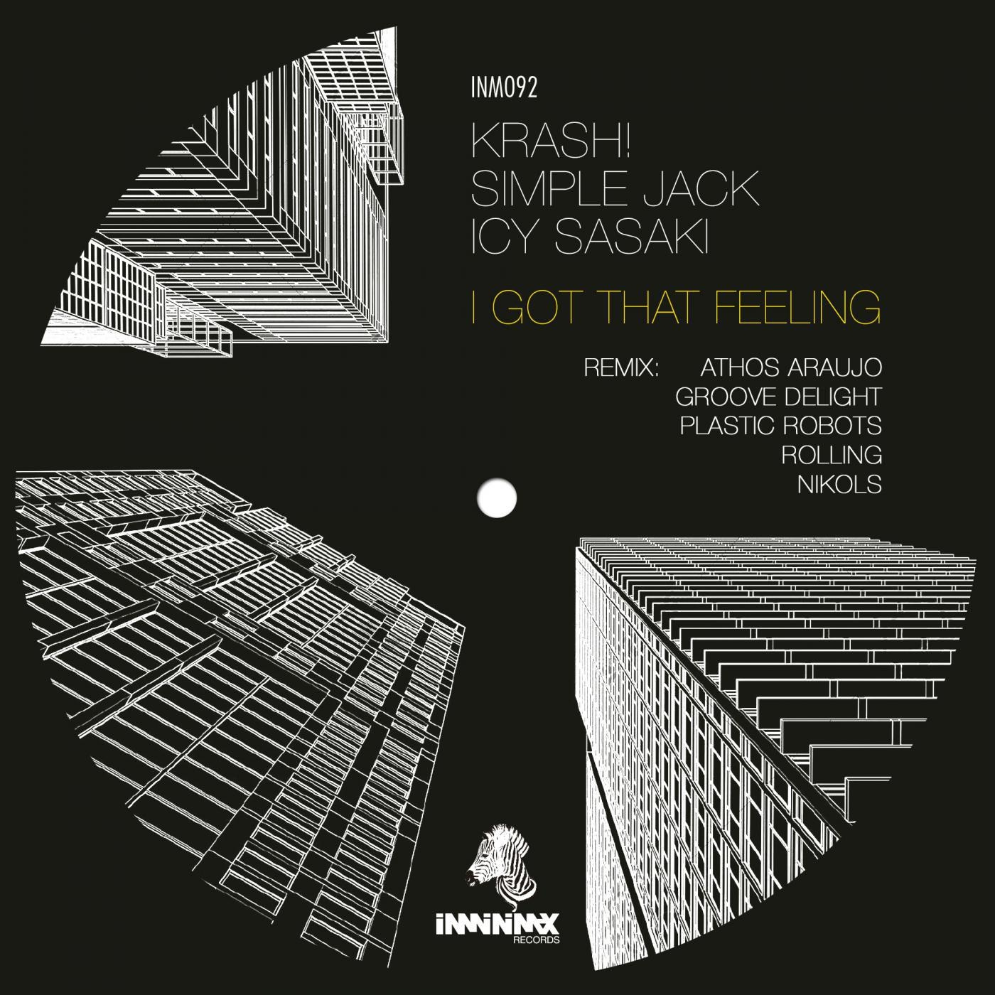 Icy Sasaki & KRASH! & Simple Jack - I Got That Feeling (Groove Delight Remix)