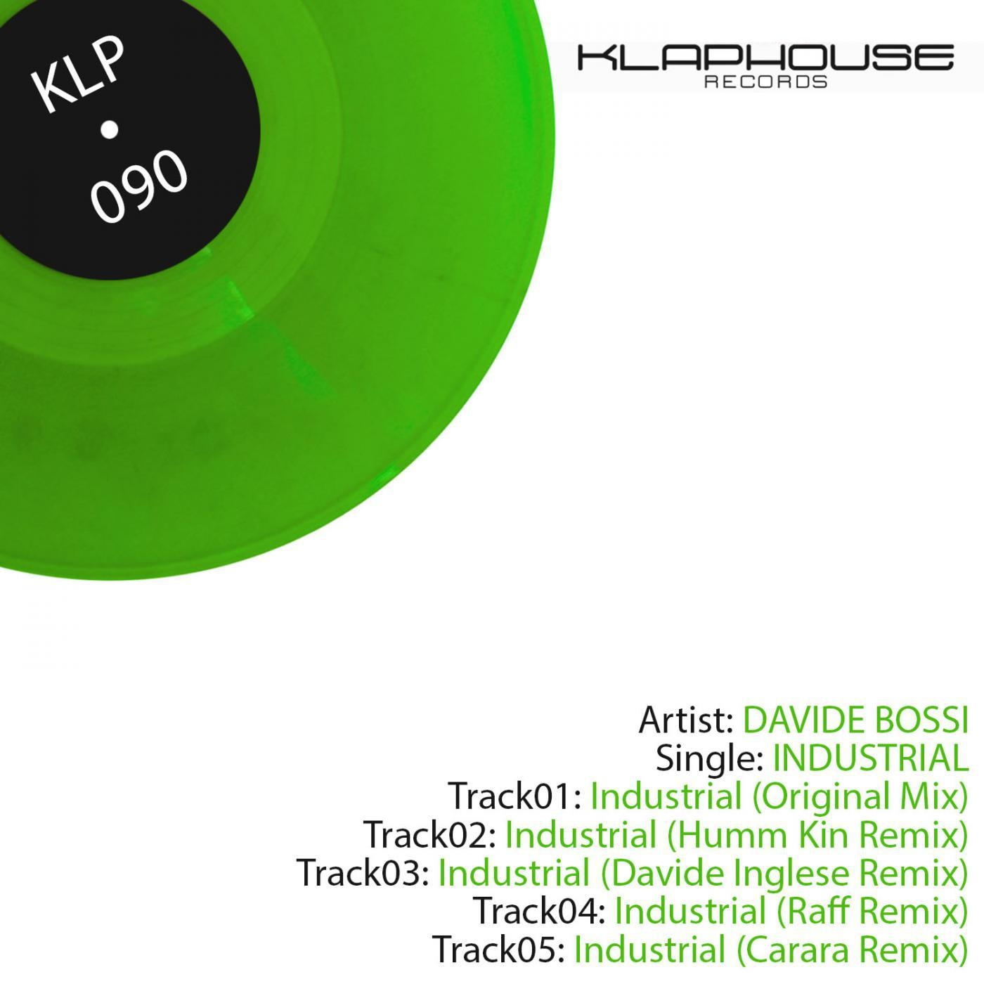 Davide Bossi - Industrial. (Davide Inglese remix)