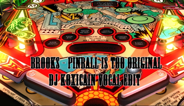 Brooks and Major Lazers  - Pinball is Too Original (DJ Koxicain Vocal Edit)