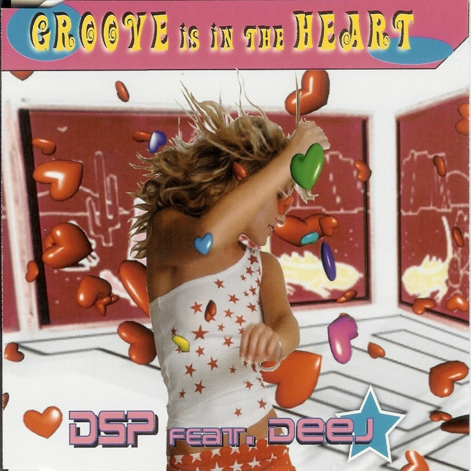 DSP, Deej - Groove Is In The Heart (feat. Deej) (Candy Coated Radio Mix)