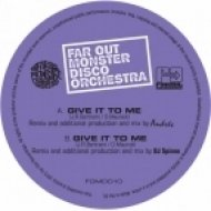 The Far Out Monster Disco Orchestra - Give It to Me (DJ Spinna\'s Galactic Soul Mix)