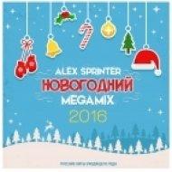 DJ Alex Sprinter - Новогодний Megamix 2016 (RUS HITS 2015)