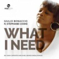 Giulio Bonaccio Ft. Stephanie Cooke - What I Need (Original Mix)