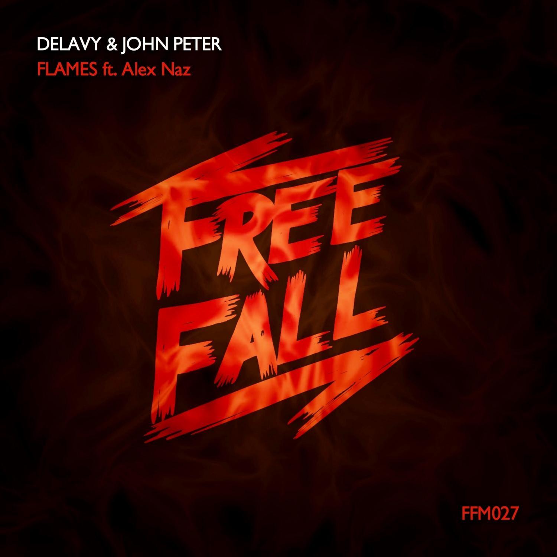 Delavy, John Peter, Alex Naz - Flames (feat. Alex Naz) (Original Mix)