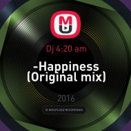 Dj 4:20 am - -Happiness (Original mix)