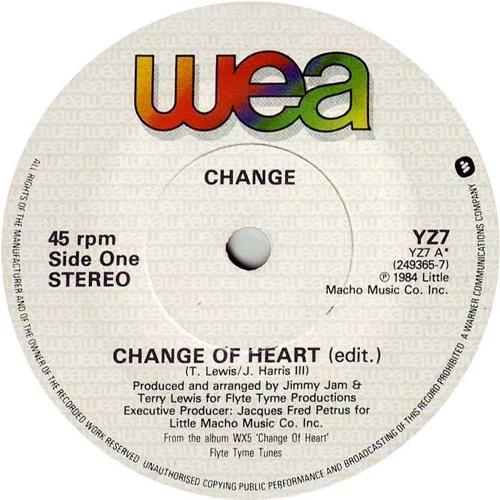 Change - Change Of Heart (Groove Motion Edit)