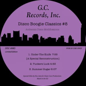 Disco Boogie Classics - Under The Knife (A Special Reconstruction)