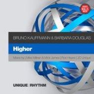Bruno Kauffmann, Barbara Douglas - Higher (Mike Millrain, Mick James Remix)
