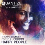 Thomas Blondet feat. Phillip Ramirez - Happy People (DJ Spen & Thommy Davis Outta Da Basement Mix)