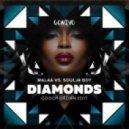 Malaa vs Soulja Boy - Diamonds (Gooch Brown Mash Up) (Gooch Brown Edit)