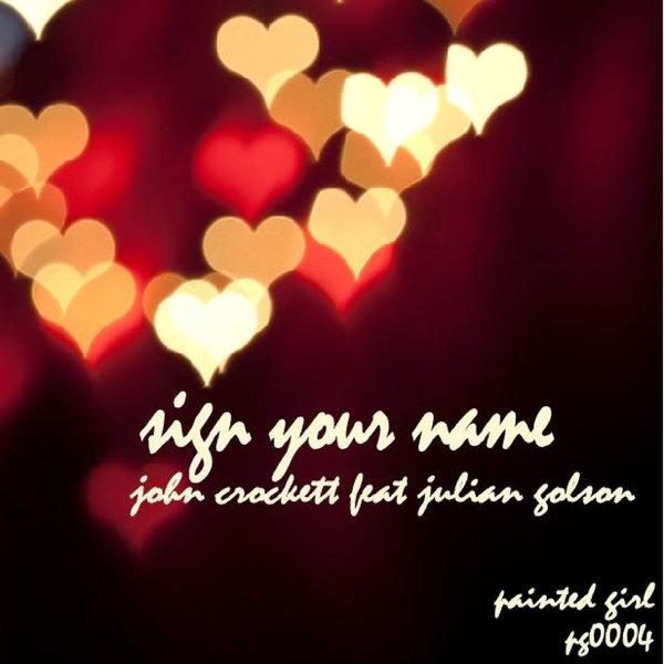 Julian Golson feat. John Crockett - Sign Your Name (John Crockett Instrumental Cover)