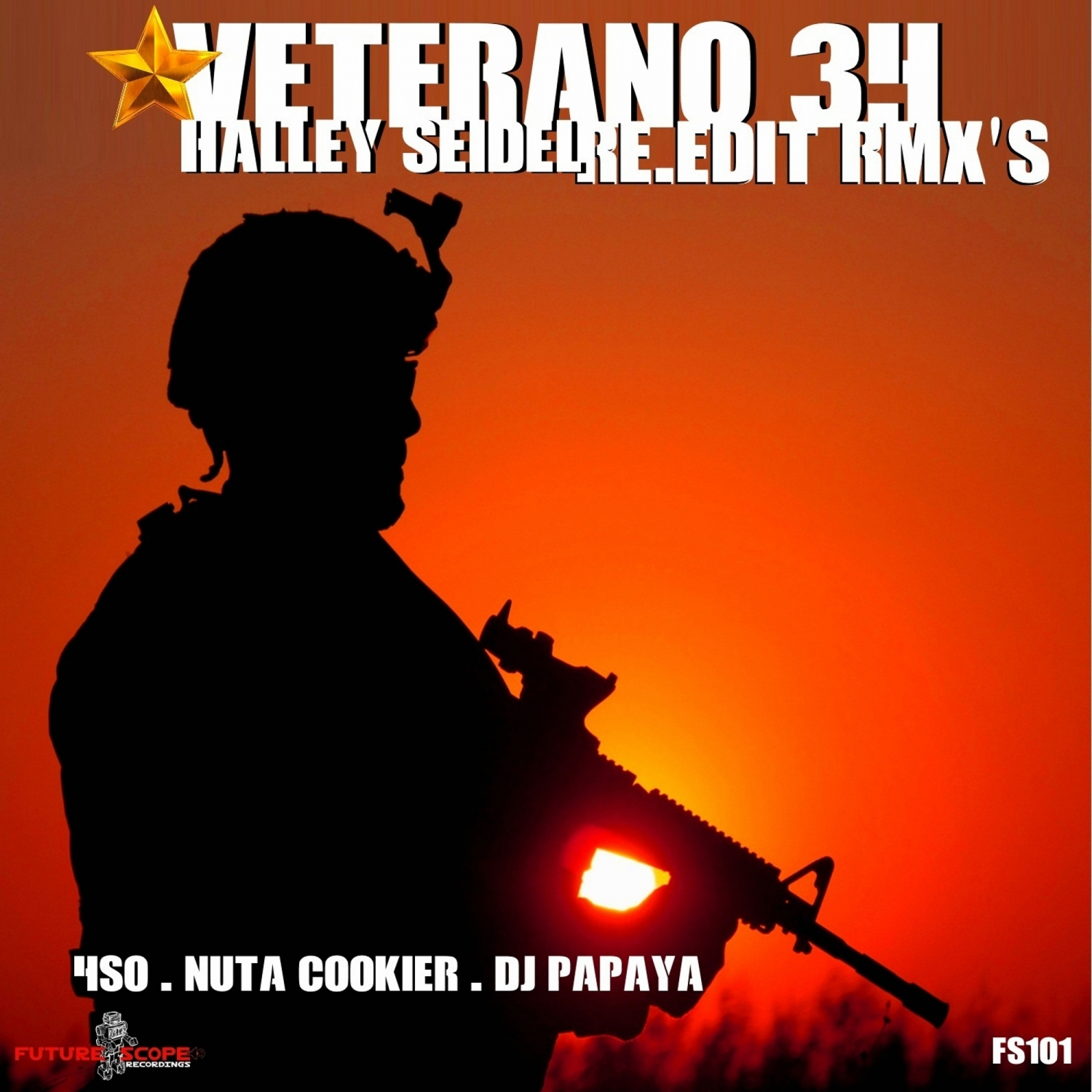Halley Seidel   - Veterano 34 (Dj Papaya Remix)