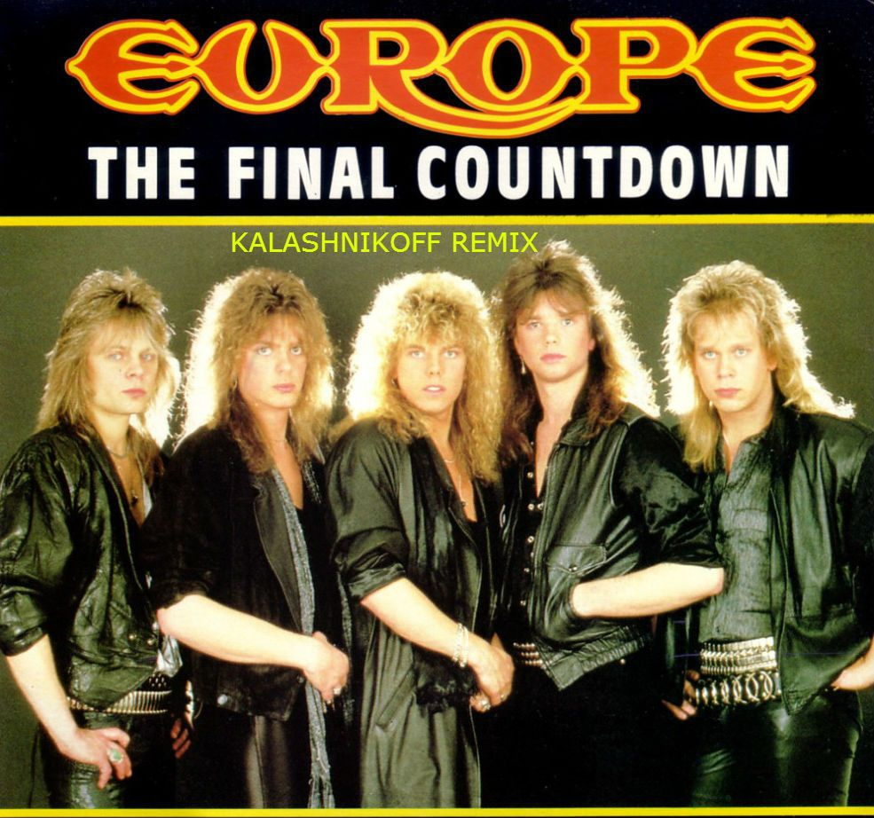 Europe - The fiinal countdown (KalashnikoFF remix) radio edit ()