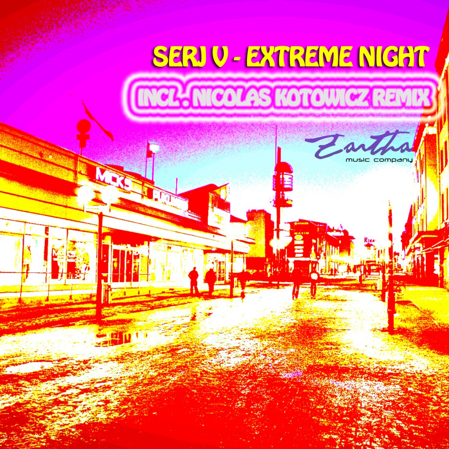 Serj V - Extreme Night  (Original Mix)
