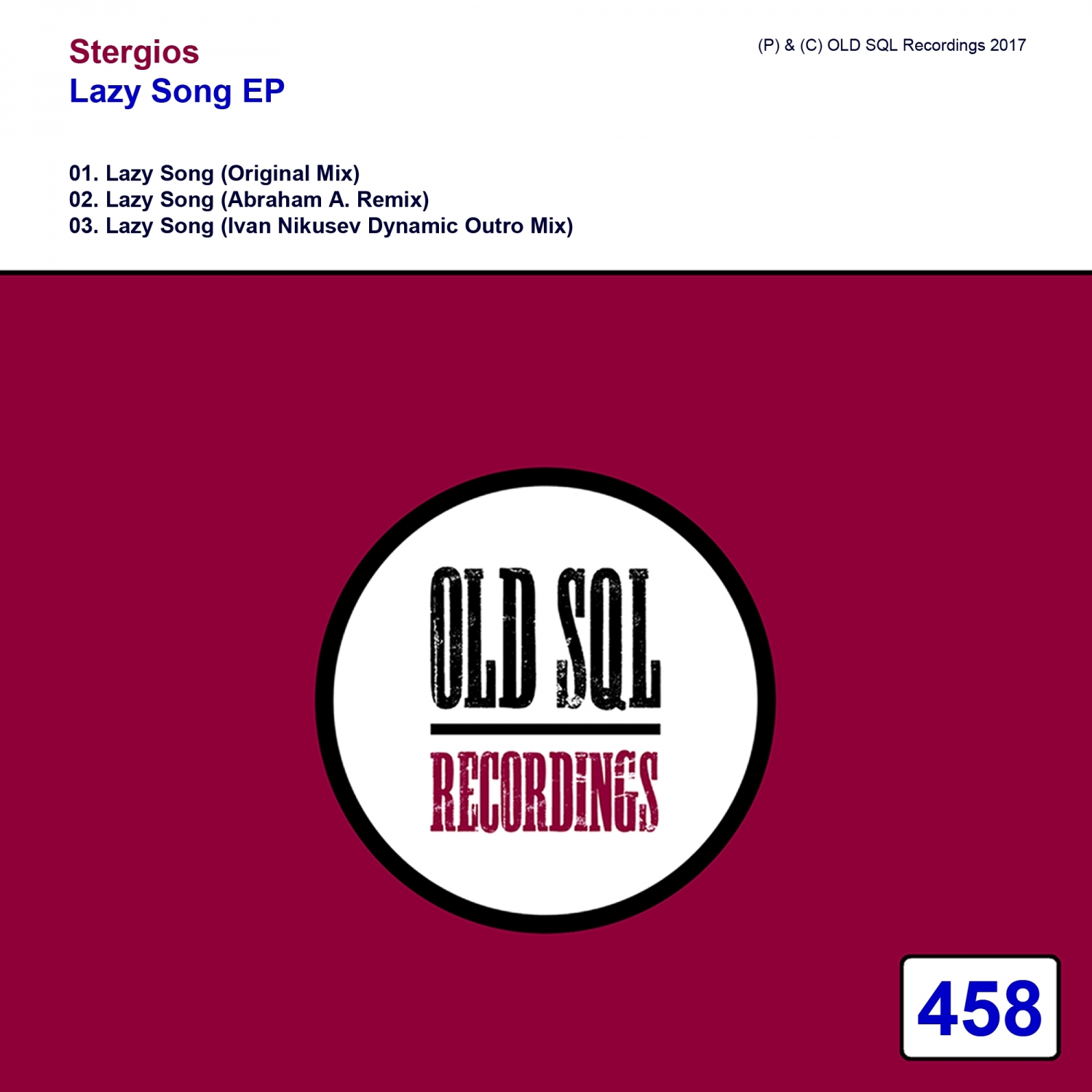 Stergios - Lazy Song (Original Mix)