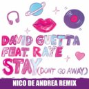 David Guetta - Stay (Don\'t Go Away) [feat. Raye]  (Nico de Andrea Remix)