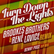 Benny Page - Turn Down The Lights (Brookes Brothers & Rene LaVice Remix)