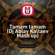 Summer Cem X No Signe - Tamam tamam (Dj Ablay Kaltaev Mash up)