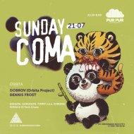 XiMka B2B Hi Tech Chaos - #SunDayCOMA @ PUR PUR iBAR AFTERPARTY (House & Techno Live DJ Set) [MP3 320kbs 2019-07-21] (MIX)