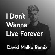 ZAYN - I Don\'t Wanna Live Forever (David Malko Remix)